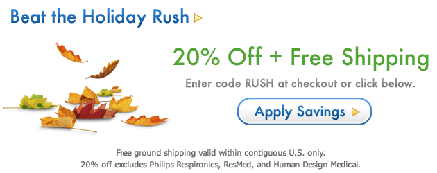 Get 20% Off + Free Shipping With Code RUSH