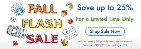 Fall Flash Sale - Save up to 25%