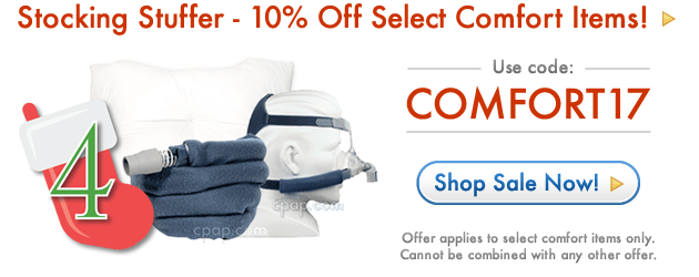 10% Off Select Comfort Items with code COMFORT17