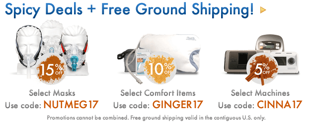 Thanksgiving deals plus free ground shipping.